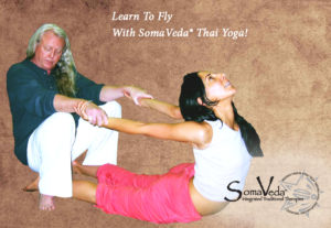 learn To Fly with SomaVeda® Thai Yoga